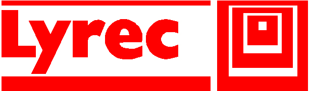Lyrec recorder logo in the Museum of magnetic Sound Recording
