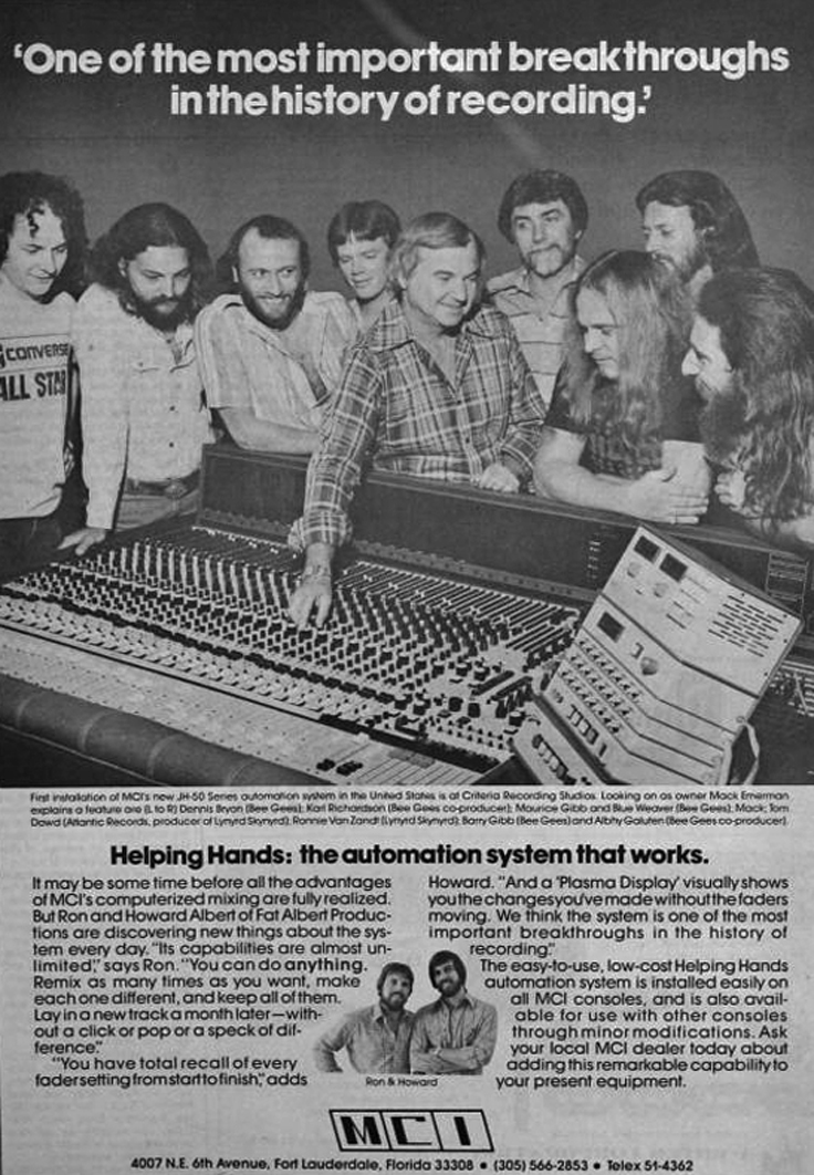 1977 MCI ad in the Reel2ReelTexas.com vintage recording collection