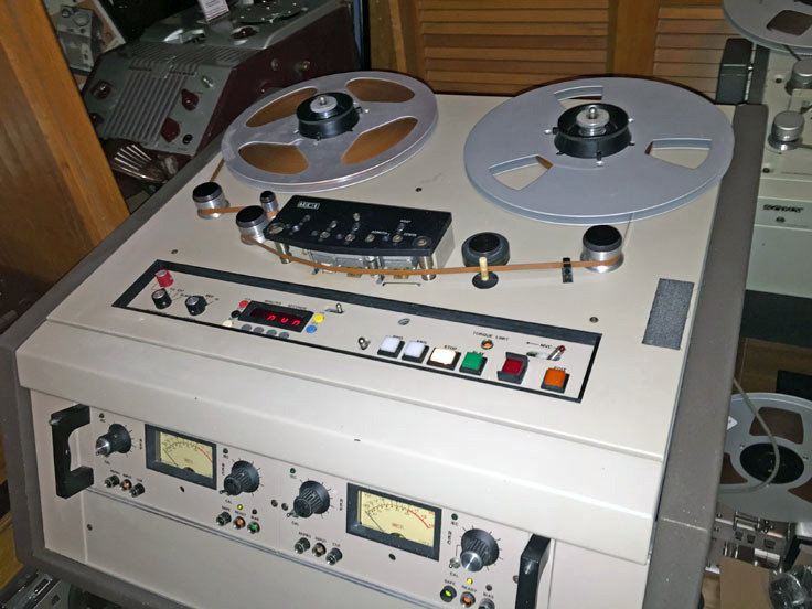 MCI JH-110 in the rel2ReelTexas vintage recording collection