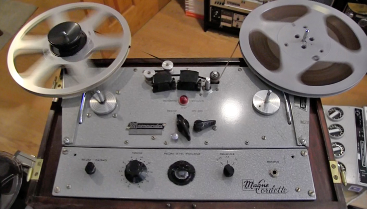 Magnecord PT-6 reel to reel tape recorder in the Reel2ReelTexas.com vintage recording collection