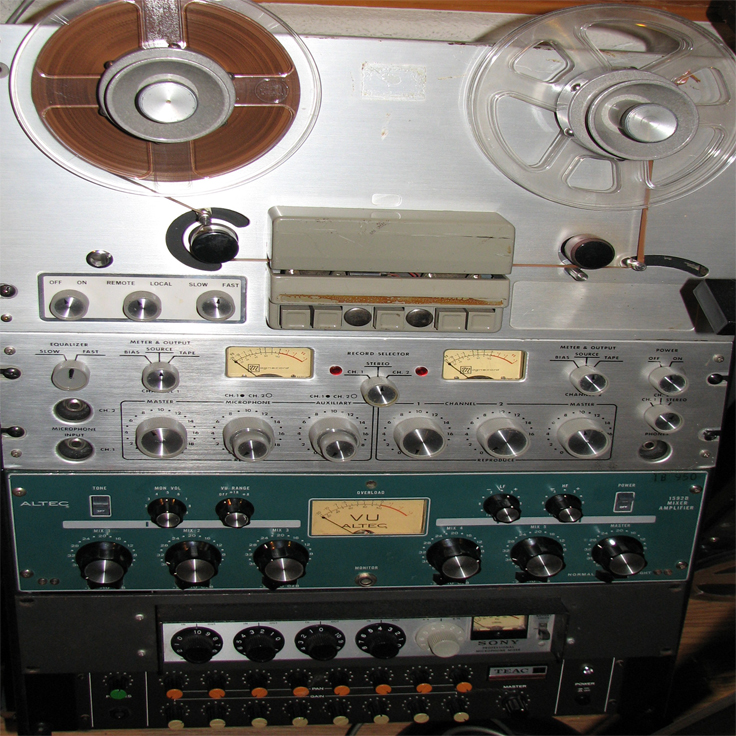 Magnecord 1024 reel tape recorder in the Reel2ReelTexas.com vintage recording collection