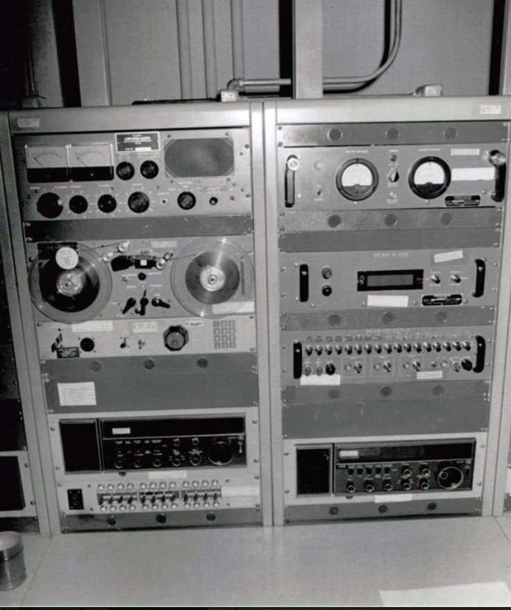 US Military Magnecord PT-6 t tack reel to reel tape recorder photo provided to the Museum of Magnetic Sound Recording by Mike Dick, SMSgt USAF, Retired
