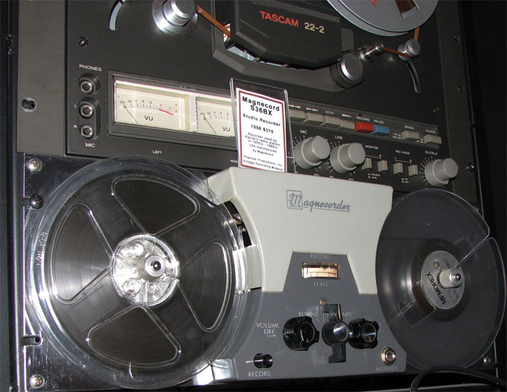 Magnecord S36BX  reel tape recorder in the Reel2ReelTexas.com vintage recording collection
