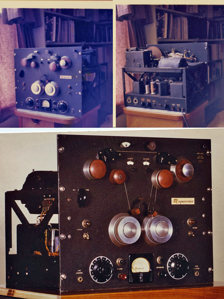 "Magnecord's first product was the professional wire recorder SD-1 - SD =""Super Duper"""