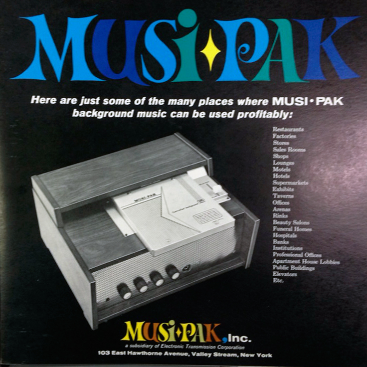 Musi-Pak photos donated by Bob Gathany to the Museum of Magnetic Sound Recording