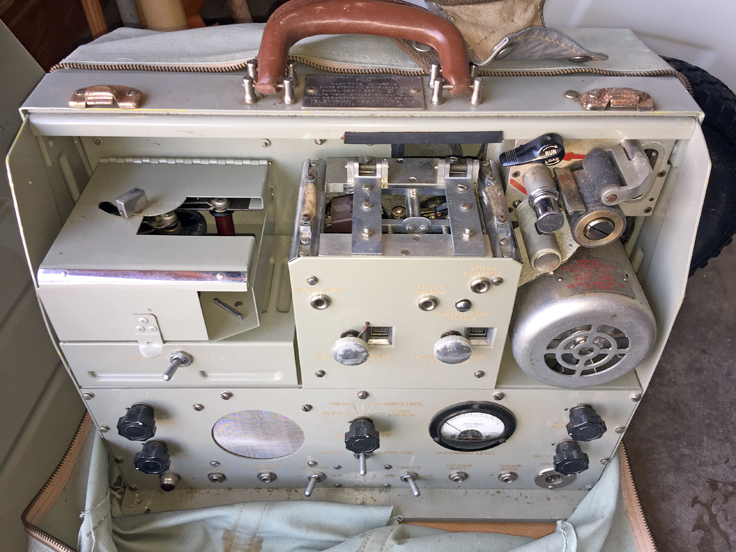 Navy Type IC-VR-6 Film recorder donated to our museum by Jonathan Francis