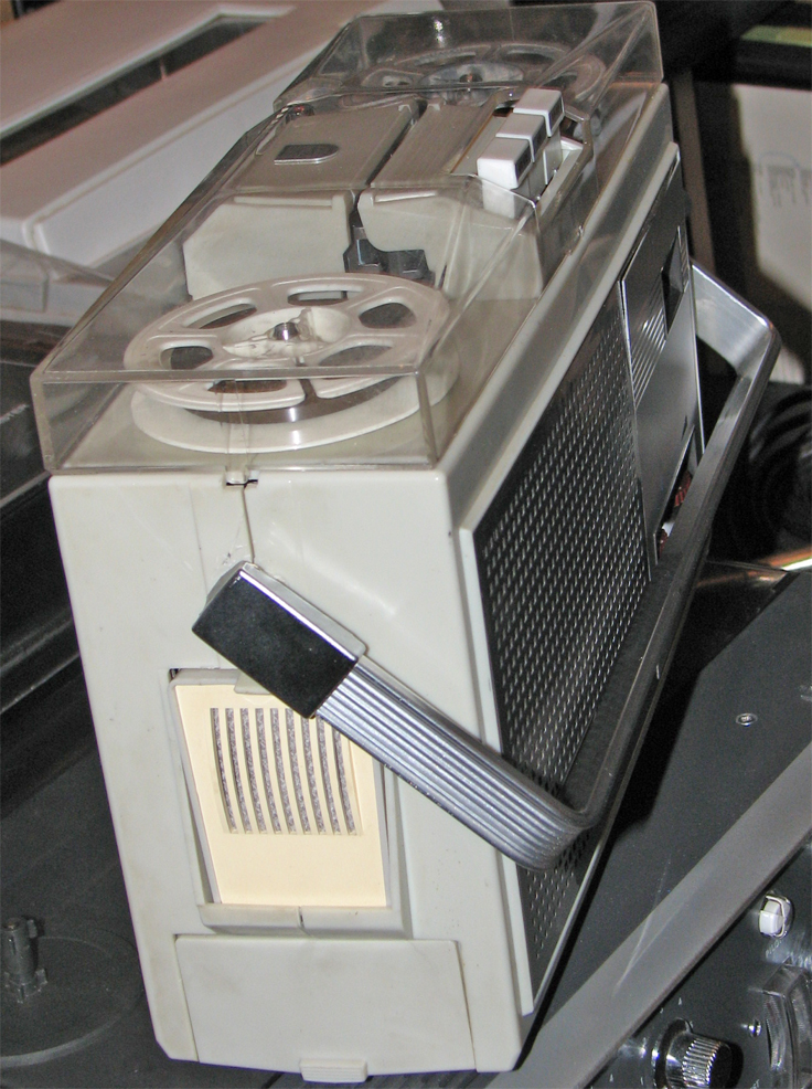 Philips 101  reel tape recorder in the Reel2ReelTexas.com vintage recording collection