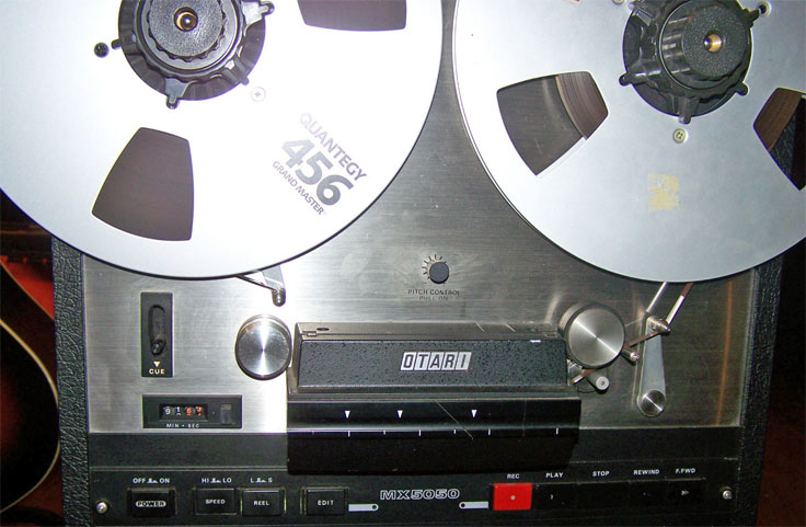 OTARI MX5050 QXHD 4 TRACK reel tape recorder