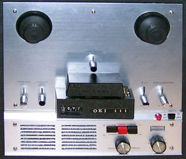 Oki 111 reel to reel tape recorder