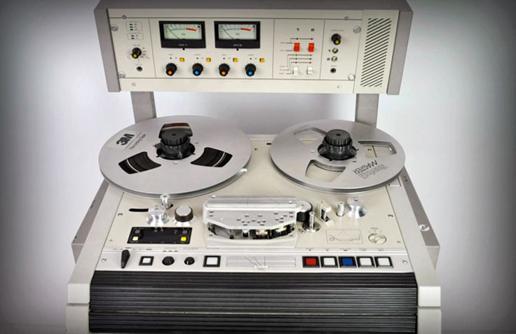 Otari MTR 12 II reel to reel tape recorder