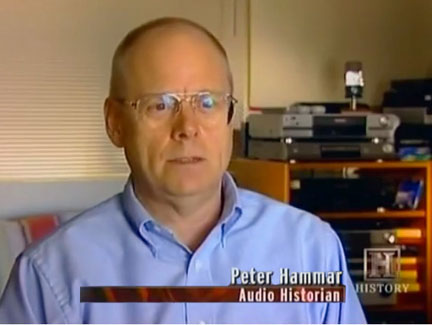 Peter Hammer, Ampex Museum Curator on History Channel's High Tech Hitler