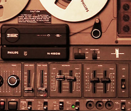 Philips N4506 reel to reel tape recorder in the Reel2ReelTexas.com vintage recording collection