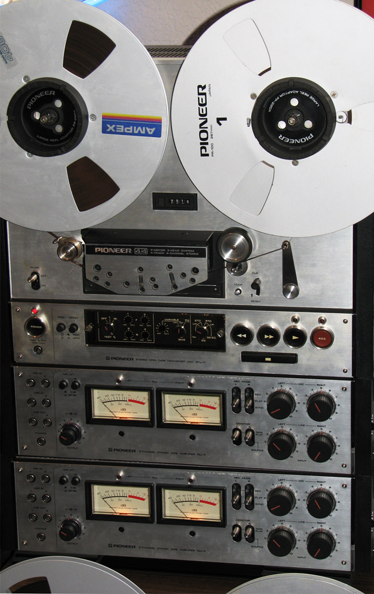RT-2044 reel to reel tape recorder in the Reel2ReelTexas.com vintage recording collection