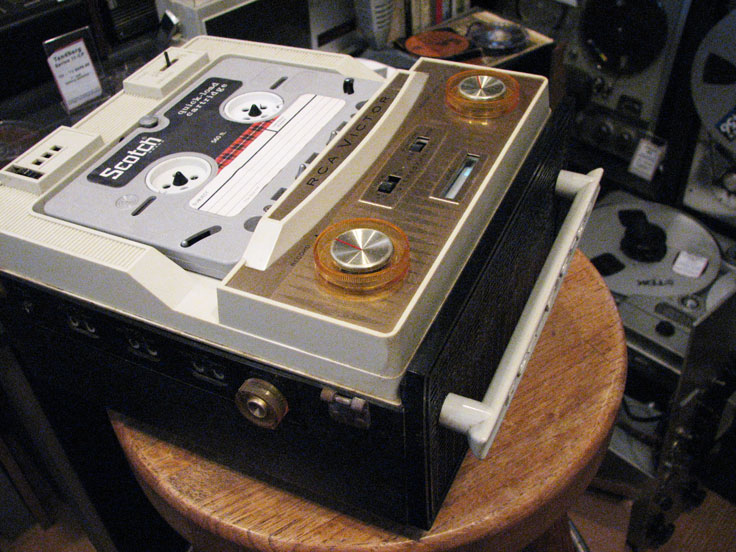 RCA IYC 11 cartridge recorder in the Reel2ReelTexas.com collection