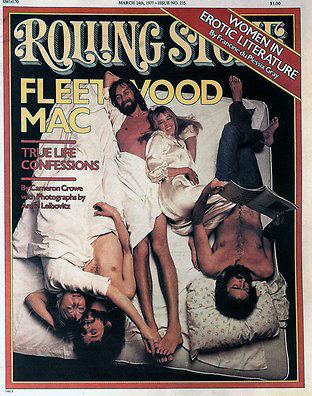 1977 Rolling Stone cover showing Fleetwood Mac
