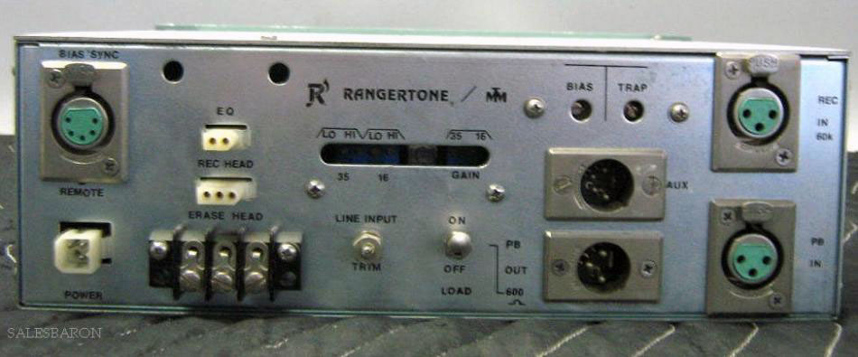 Rangertone amplifier in the Reel2ReelTexas.com vintage reel tape recorder recording collection