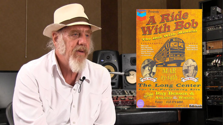 Ray Benson and Ride with Bob poster