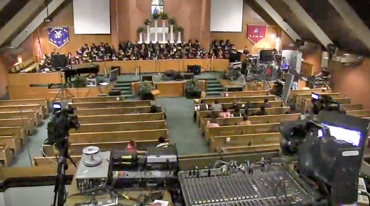 Reelsound's Mt. Sinai Baptist Church recording session