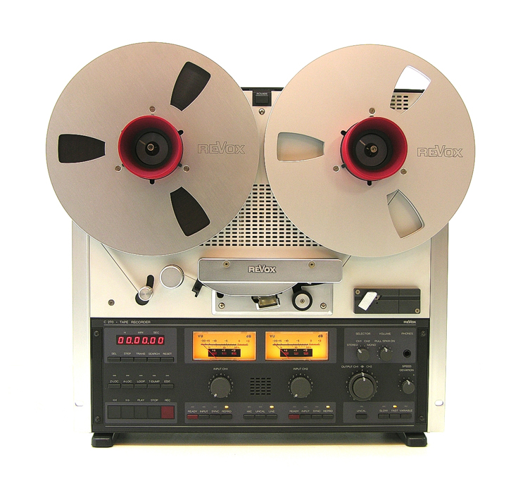 ReVox C270 reel tape recorder was one of the last recorders produced by ReVox.