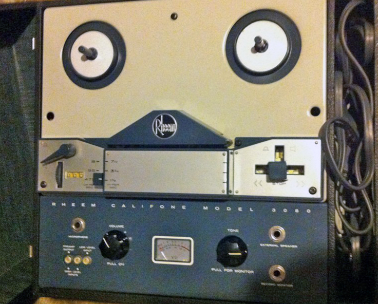 Rheem Califone AV 3080 reel tape recorder