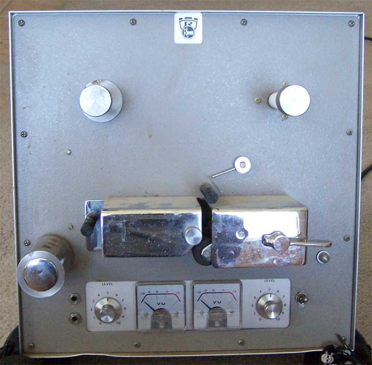 Rheem model tape machine pictures in the Reel2ReelTexas.com vintage reel tape recorder recording collection