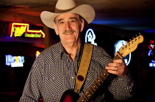 Rick McRae is one of George Strait's long time guitar players