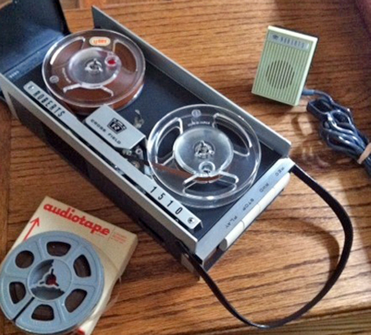 "Roberts 1510X 3"" reel Crossfield portable reel tape recorder"