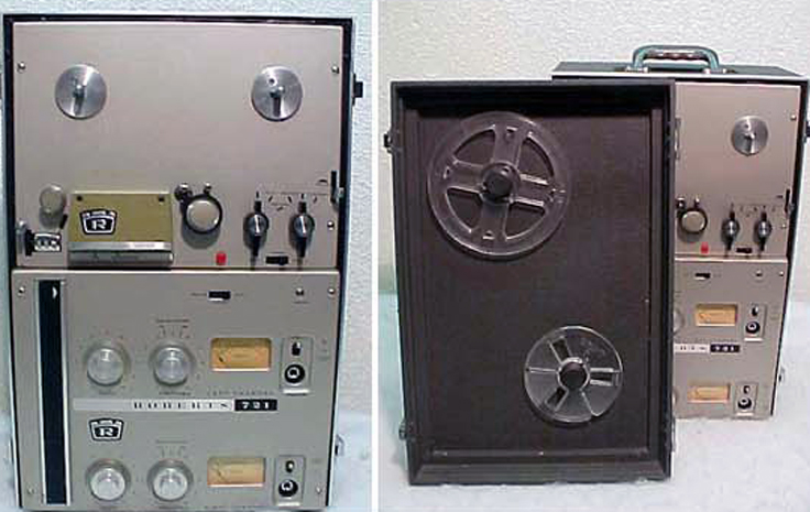 Roberts 721 reel to reel tape recorder