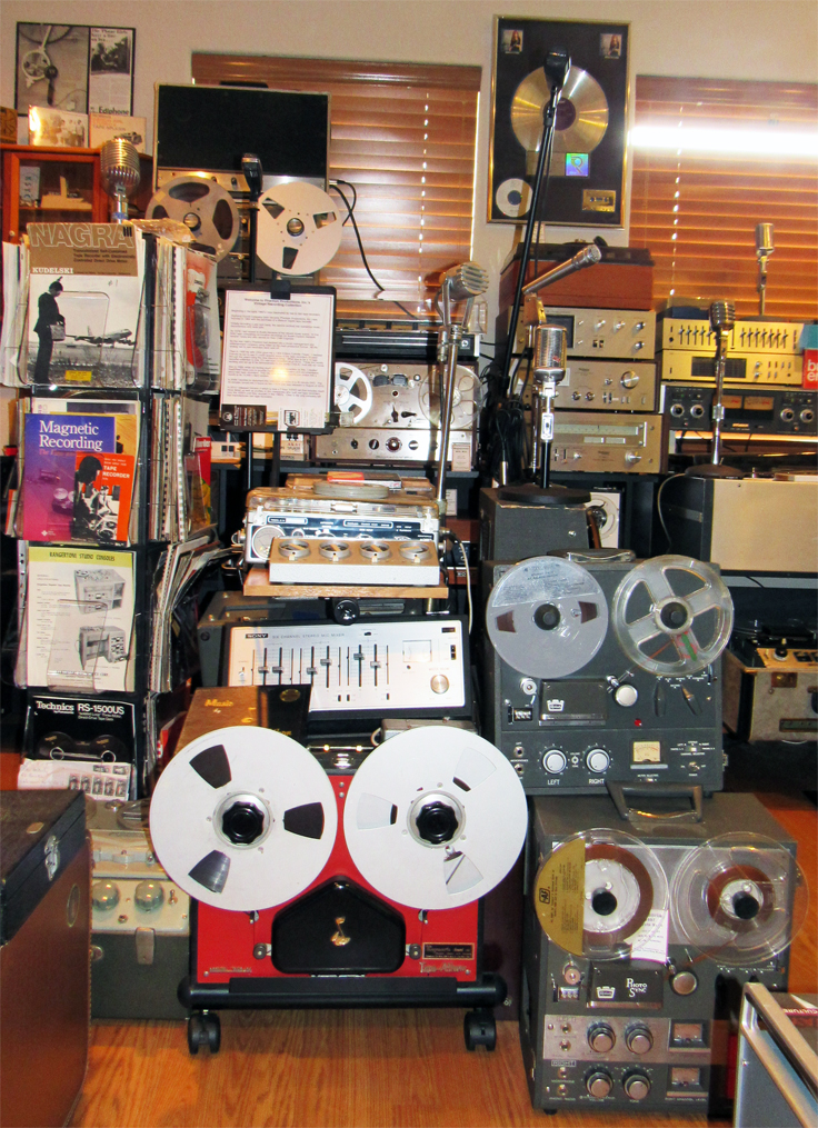 Berant Concertone, Crown, Dokorder,Magnecord, Nagra, Newcomb and many more reel to reel tape recorders in the Reel2ReelTexas.com vintage reel tape recorder recording collection
