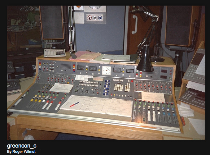 Photos of the BBC provided with permission from BBC engineer Roger Wilmut to the Museum of Magntic Sound Recording