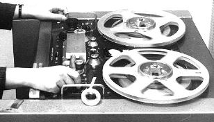 Photo of the EMI BRT2  reel tape recorder provided to the Museum of Magnetic Sound Recording by Roger Wilmut, BBC engineer from 1960