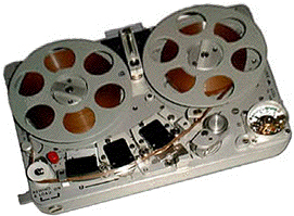 Photo of the Nagra SN reel tape recorder provided to the Museum of Magnetic Sound Recording by Roger Wilmut, BBC engineer from 1960