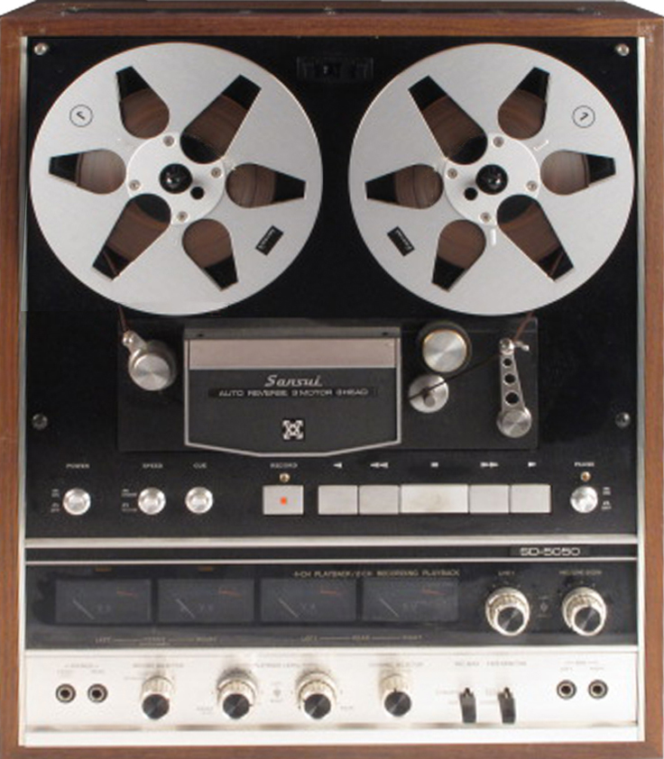 Sansui reel to reel tape recorder