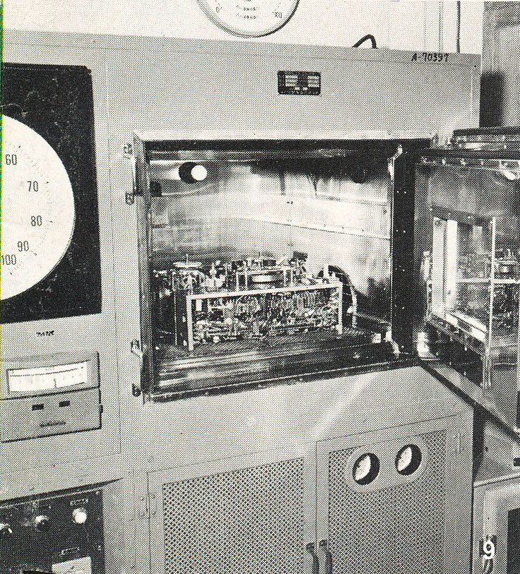 Early Sony reel to reel tape recorder factory in the Reel2ReelTexas.com vintage recording collection