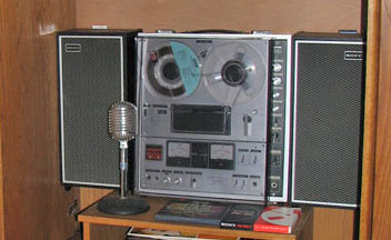 1967 Sony TC-630 reel tape recorder  in the Reel2ReelTexas.com vintage recording collection