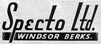The Specto, Ltd logo  in the Reel2ReelTexas.com vintage recording collection