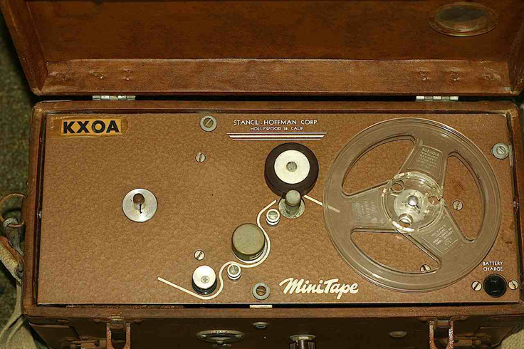 Stancil Hoffman MiniTape portable tape recorder