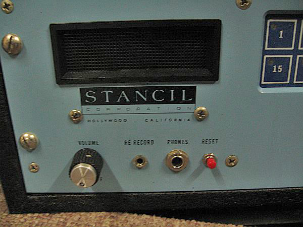 Stancil Hoffman TGRA 365 6 reel to reel data recorder