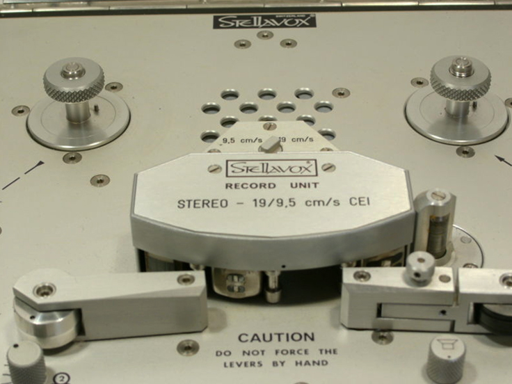 Stellavox SP7 pro tape recorder in the Reel2ReelTexas.com vintage recording collection