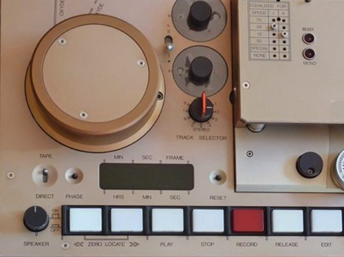Stellavox TD88 pro reel to reel tape recorder photo in the Museum of magnetic Sound recording