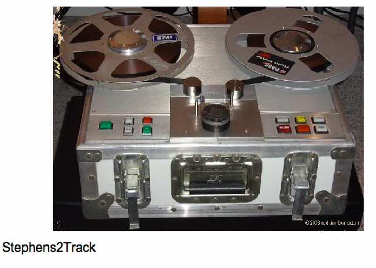 Stephens reel to reel tape recorder photo in the Reel2ReelTexas.com vintage recording collection