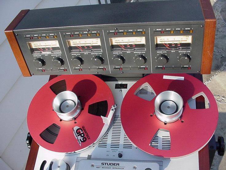 Studer A807 • Studer - ReVox reel tape recorders • the