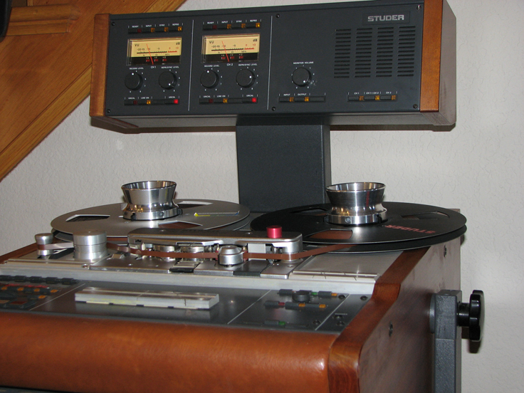 Studer A807 • Studer - ReVox reel tape recorders • the