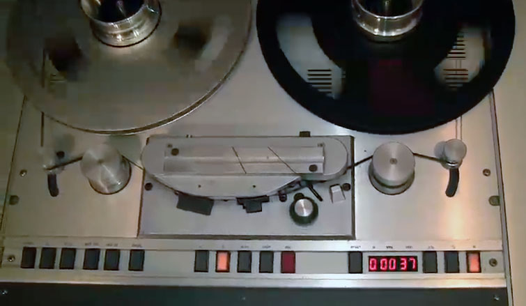 Studer B67 professional reel to reel tape recorder in the Reel2ReelTexas.com vintage recording collection