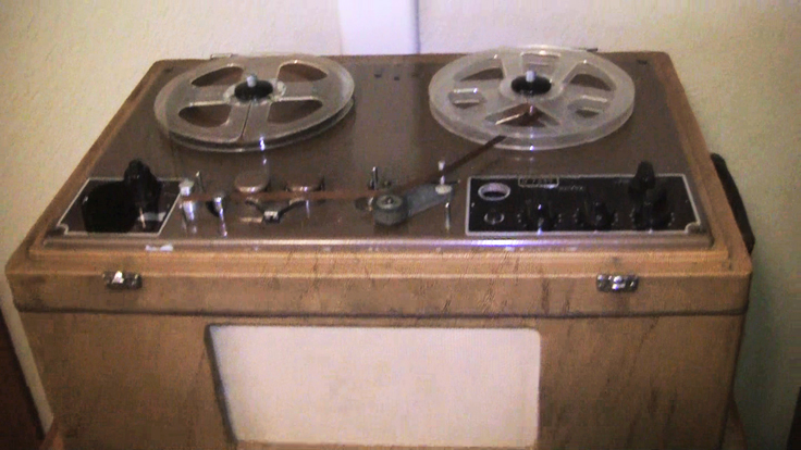 Willi Studer's T-26 Dynavox reel to reel tape rcorder in the Reel2ReelTexas.com vintage recording collection