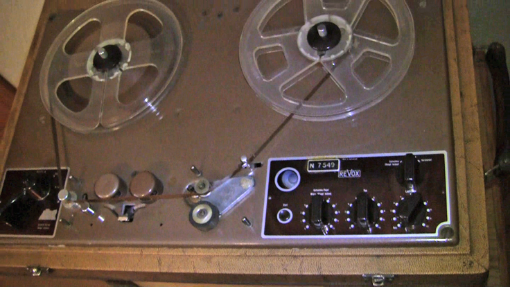 Studer Dynavox T-26 reel to reel tape recorder from Willi Studer in the Reel2ReelTexas.com vintage recording collection
