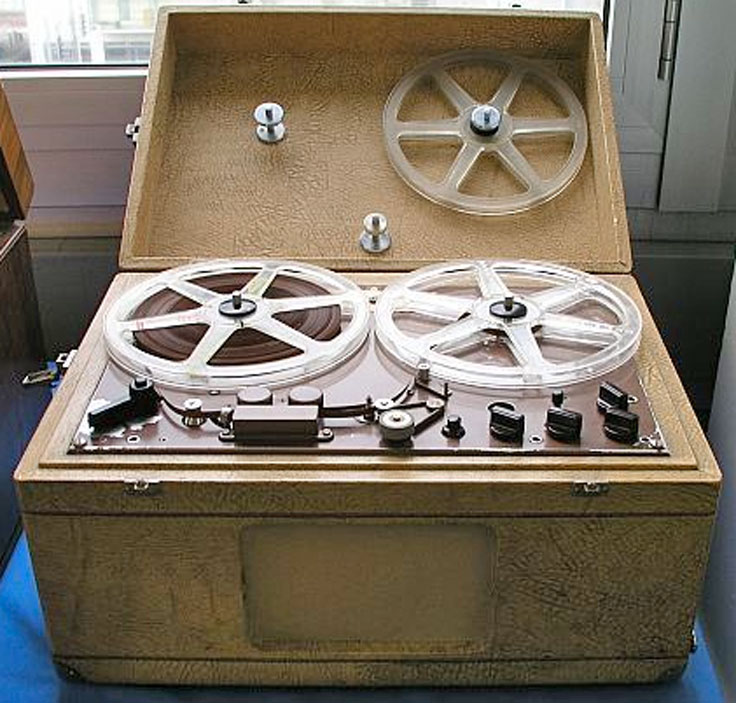 Struder Revox Dynavox T-26 reel to reel tape recorder in the Reel2ReelTexas.com vintage recording collection