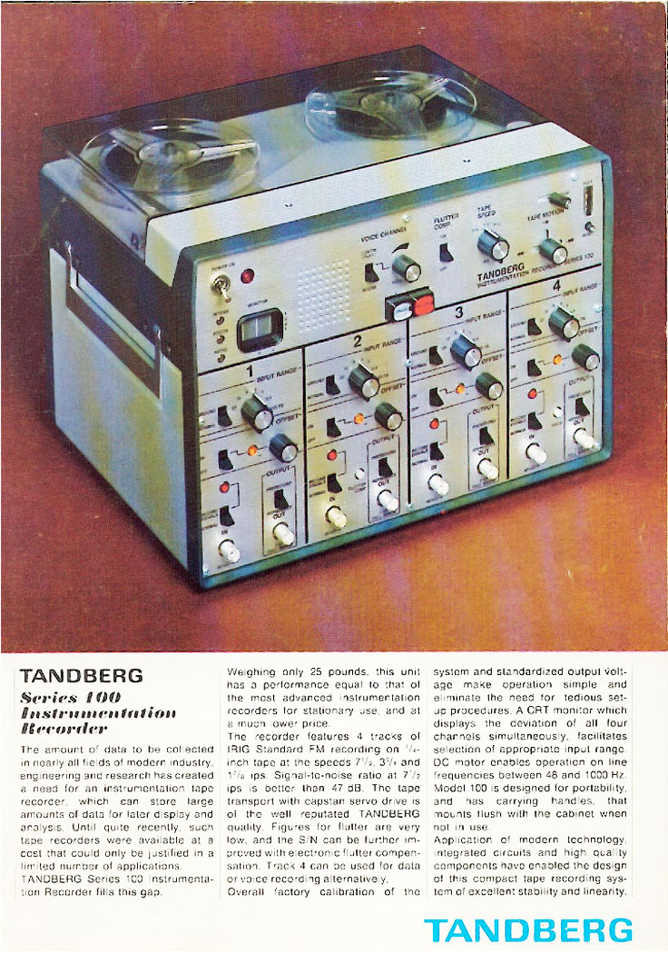 1967 ad for the Tandberg 11 reel to reel tape recorder in the Reel2ReelTexas.com vintage recording collection