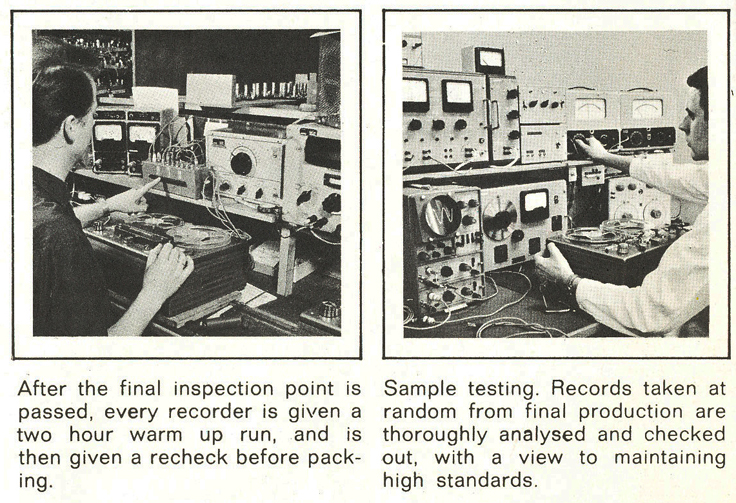 1960's profile of the Tandberg reel to reel tape recorder factory in the Reel2ReelTexas.com vintage recording collection