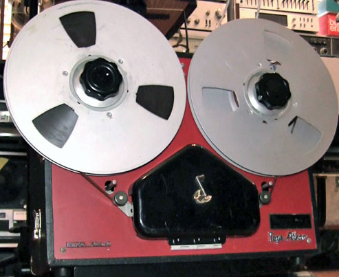 Tape-Athon reel to reel tape recorder in the Reel2ReelTexas.com vintage recording collection